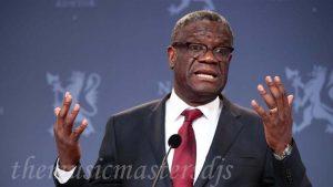 องค์การสหประชาชาติ ได้ปรับใช้กองกำลังเพื่อปกป้อง Denis Mukwege