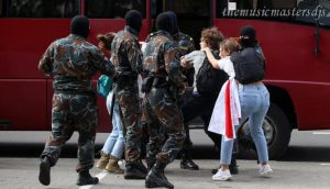 ผู้ประท้วงนักศึกษา 40 คนถูกควบคุมตัวในเบลารุส