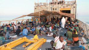 ความตึงเครียดเพิ่มขึ้น ของผู้อพยพบนเกาะสเปน