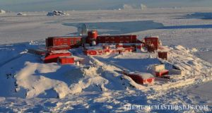 การแพร่ระบาดไปถึงแอนตาร์กติกา