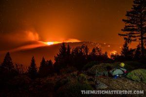 ลมพัดจุดไฟที่ใหญ่ที่สุดในแคลิฟอร์เนีย