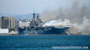 นาวิกโยธินถูกตั้งข้อหาจุดไฟเผาเรือทำลายเรือ