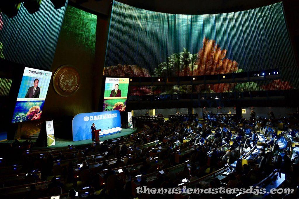 UN สร้างความกดดันต่อผู้นำโลก เพื่อลดภาวะโลกร้อน ความกดดันยังคงสร้างผู้นำโลกที่วิตกกังวลมากขึ้นเรื่อยๆ เพื่อเพิ่มความพยายามในการต่อสู้